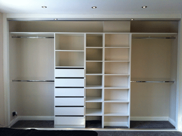 internal drawers for sliding wardrobes