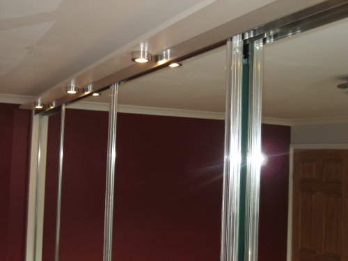 External Lights for Sliding Wardrobes