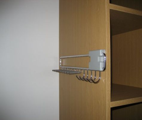 Tie and Belt Rack for Sliding Wardrobe